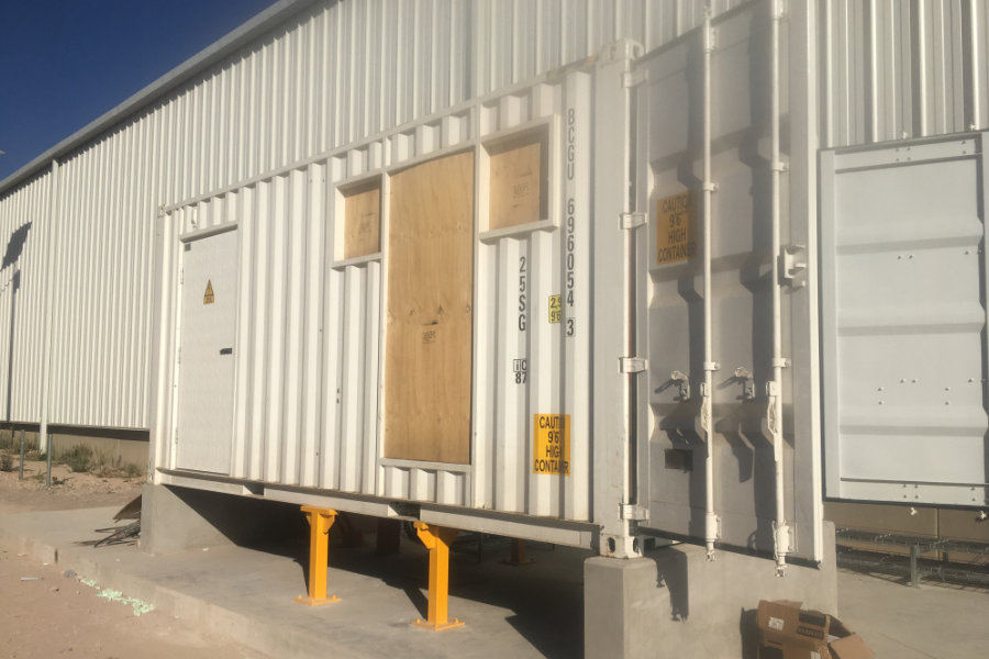 Seecontainer Sonderlösung
