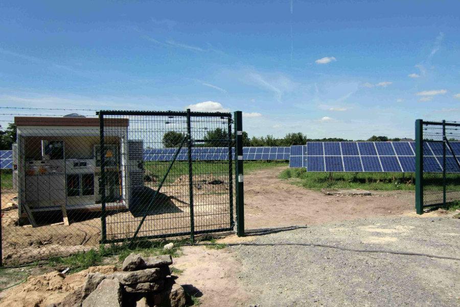 Trafostation Photovoltaik