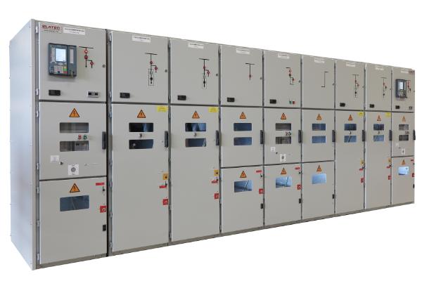Schaltanlage Luftisoliert Gebäude